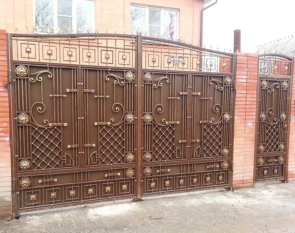 ворота для дома металлические г ростов на дону